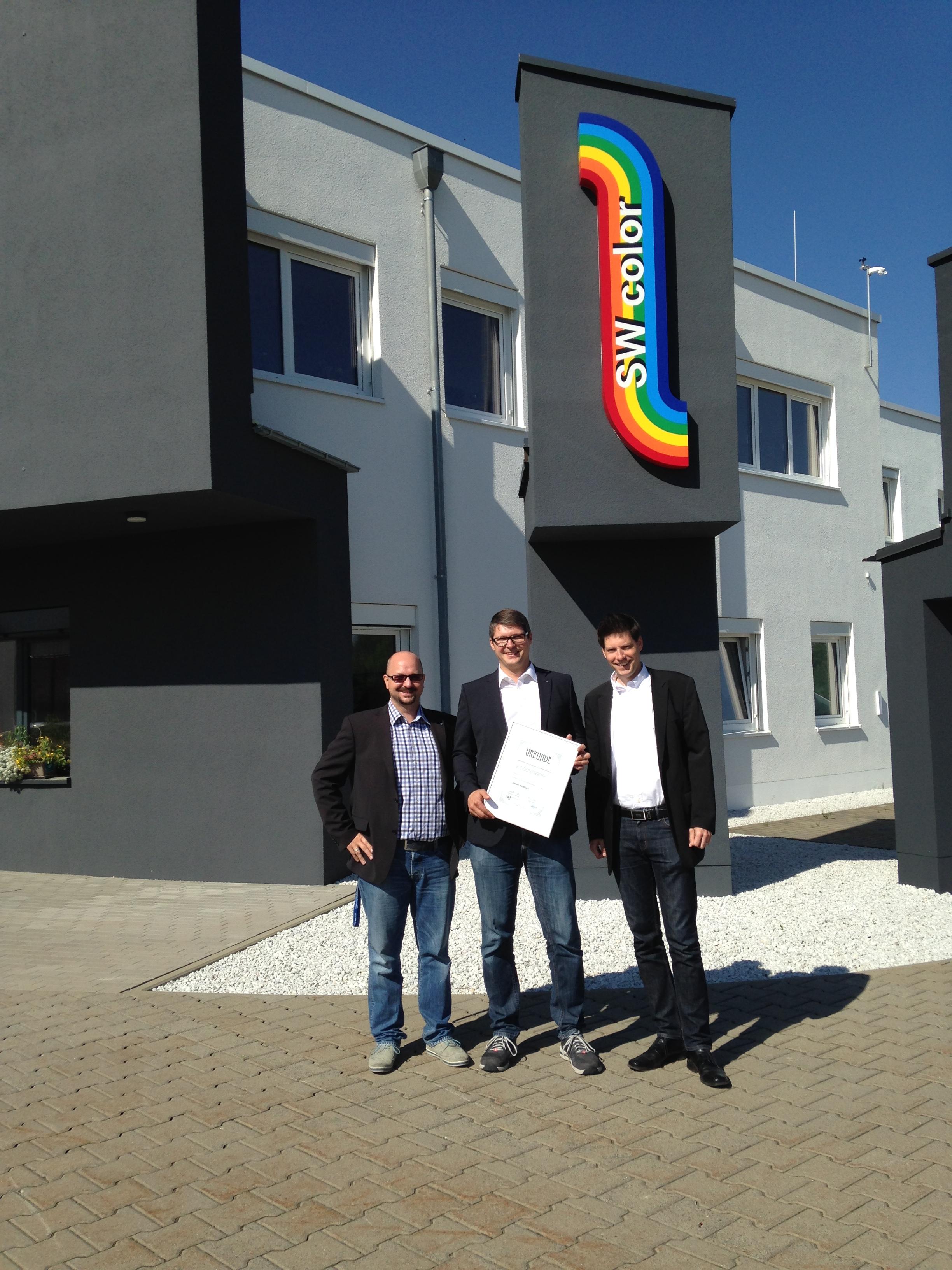 Wirtschaftsjunioren Bayreuth verleihen silberne Juniorennadel an Stefan Weißflach